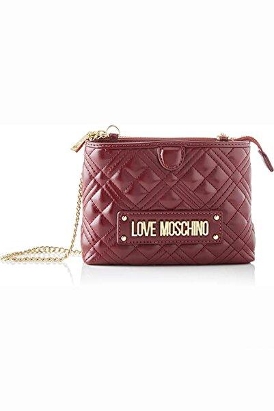 Love Moschino Love Moschıno Jc4209pp0bka0 Bordo Kadın Omuz Çantası