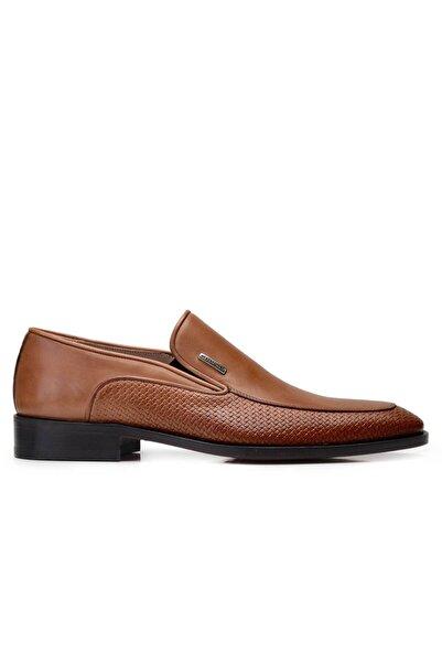 Nevzat Onay Hakiki Deri Taba Klasik Loafer Kösele Erkek Ayakkabı -11832-