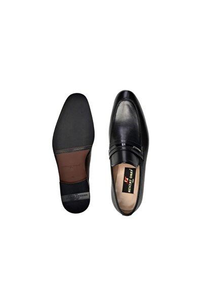 Nevzat Onay Hakiki Deri Siyah Günlük Loafer Neolit Erkek Ayakkabı -11443-