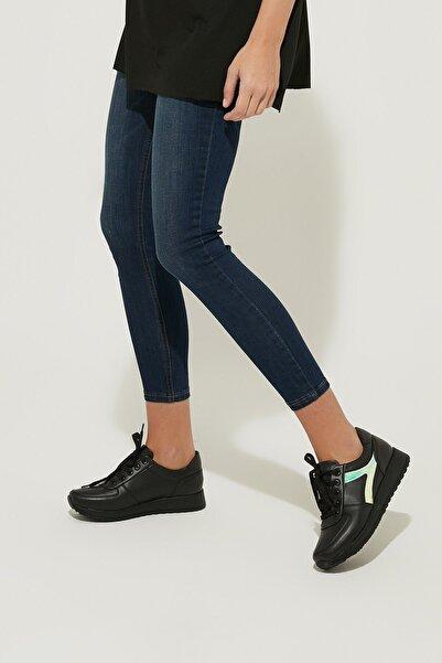 ZİNDİ Kadın Sneaker Ayakkabı Siyah
