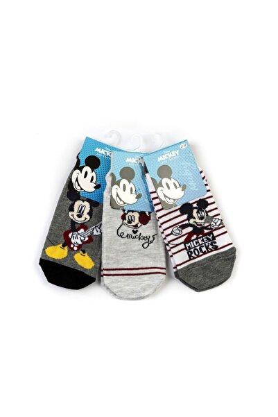 Mickey Mouse Mickey 6 Çift Patik Çorap