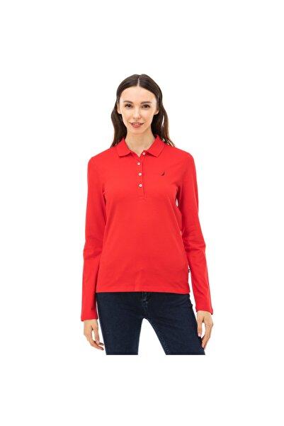 Nautica Nautıca Kadın Kırmızı Polo