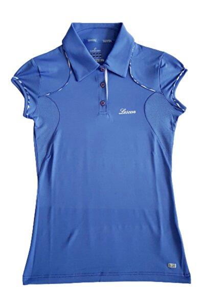 Lescon 312-2135 Eflatun Tennis Polo Yaka B-cool Bayan T-shirt S