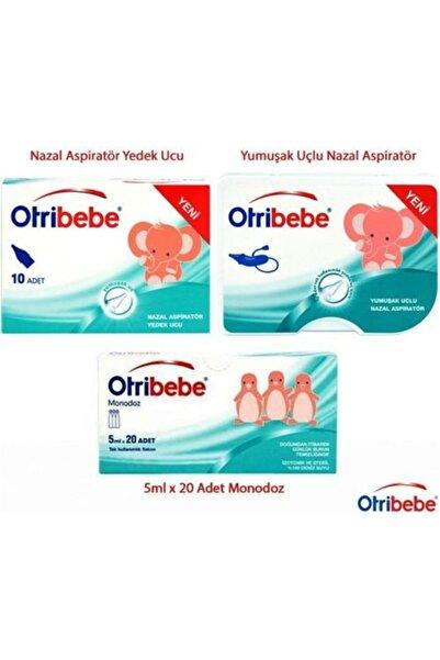 Otribebe Nazal Aspiratör + 12 Adet Yedek Uç + Monodoz 20 Flakon