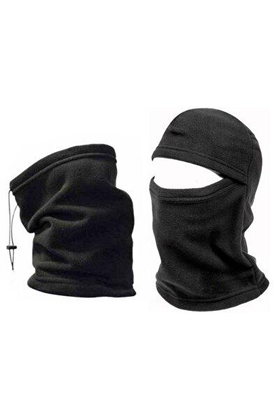 Alfa Polar Boyunluk Ve Kar Maskesi Kışlık Set 2 Set