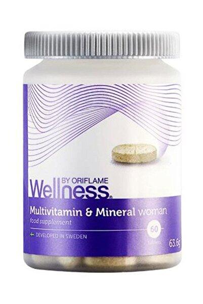 Oriflame Kadın Için Multivitamin Ve Mineral Takviye Edici Gıda 63,6 G.