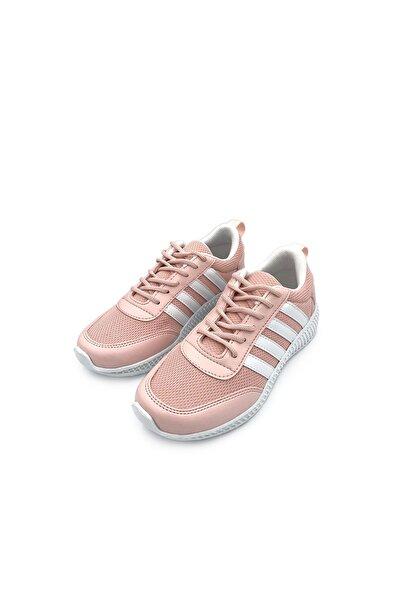 walkie Kadın Pudra Spor Ayakkabı