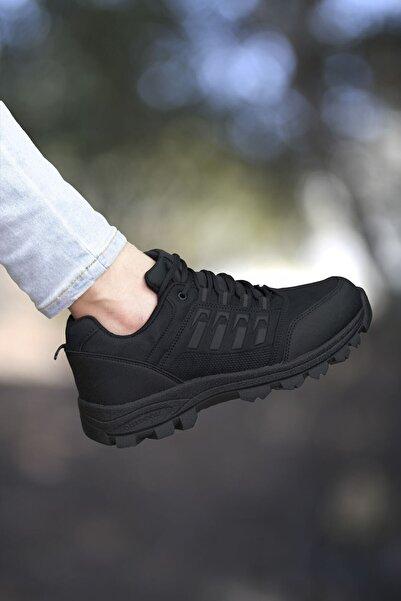 Riccon Siyah Kadın Trekking Ayakkabı 0012x5