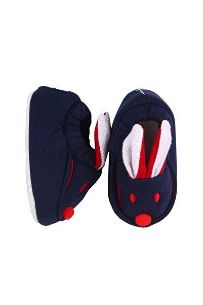 bebegen Laci Kırmızı Tavşan Kulaklı Penye Kaymaz Taban Patik