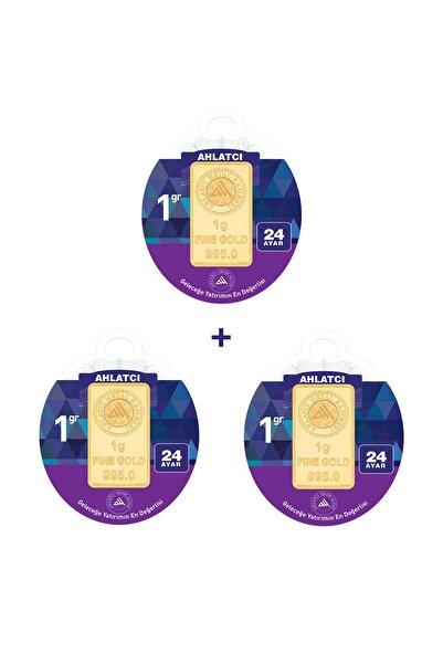 Ahlatcı 24 Ayar - 3 gram Külçe Altın