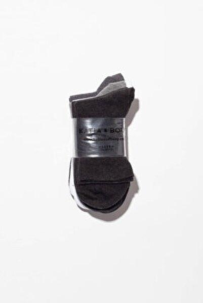 6'lı Desenli Bayan Soket Çorap - Mıx