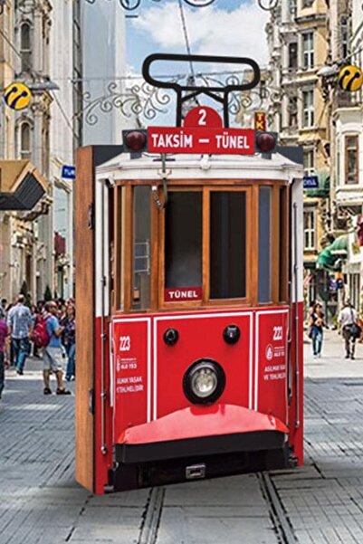 morponi Dekoratif Tramvay Temalı 3d Anahtarlık Kutusu