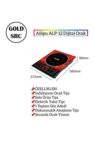 GOLD SRC Aılıpu Alp-12 Tek Gözlü Dokunmatik Elektrikli Indiksiyon Ocak