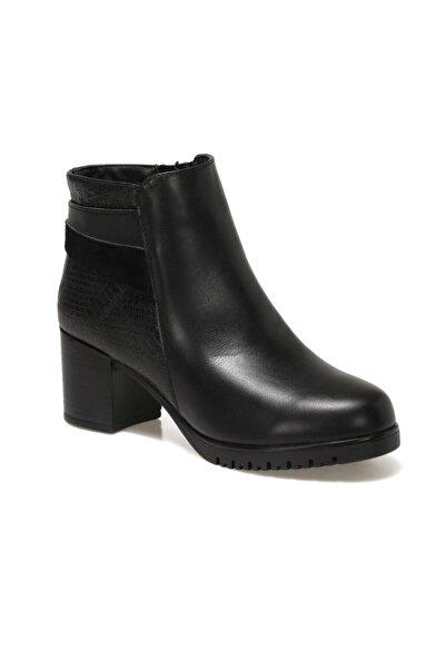 Travel Soft Trv1775 Siyah Kadın Topuklu Bot