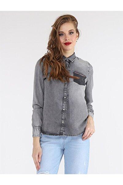 Twister Jeans Kadın  Füme Gömlek