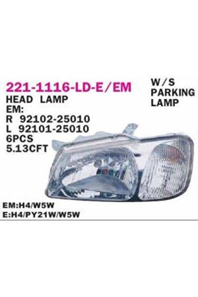 Hyundai Accent 00-02 Milenyum Ön Far Lambası Sağ Depo 2211116