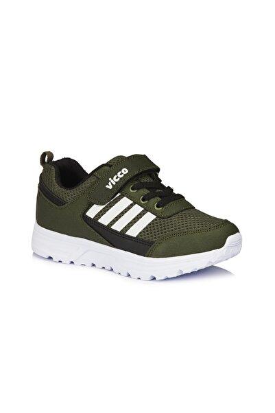 Vicco Yamato Erkek Çocuk Haki Spor Ayakkabı