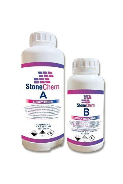 stonechem Hızlı Sonuç Süper Ultra Şeffaf Epoksi Reçine 1.33 kg