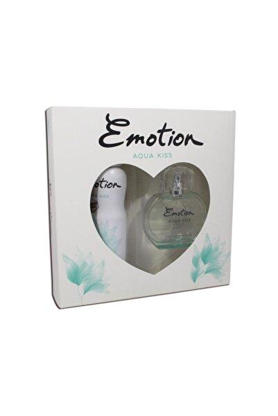 Emotion Aqua Kiss Edt + deo Kofre Kadın Set