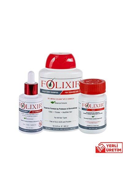 Folixir Folıxır Dökülme Karşıtı Başlangıç Seti