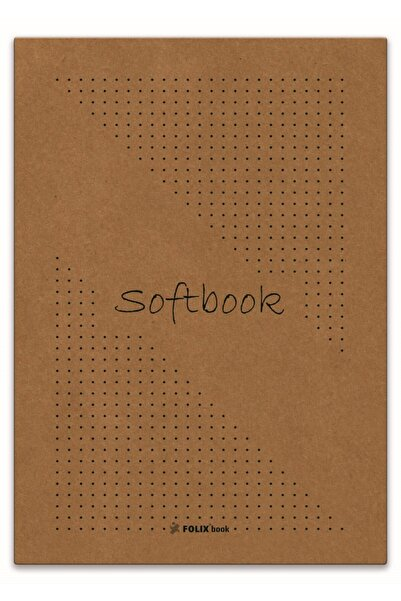 Etika Softbook Noktalı Defter 15,5x23 Cm Kraft Kapak 50 Yp. 2'li Paket