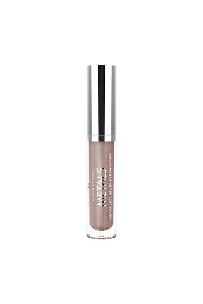 Golden Rose Metals Metallic Liquid Eyeshadow 105 Mink