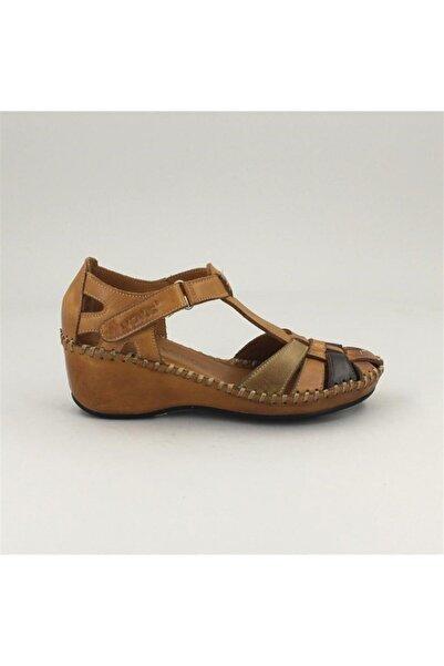 Venüs 18791382 Comfort Taban Hakiki Deri Sandalet 1731 C.taba