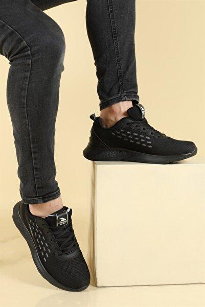 Twingo Ab Siyah Günlük Hafif Bağcıklı Spor Ayakkabı