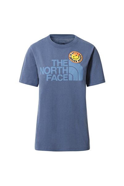 THE NORTH FACE Kadın T-Shirt  W S/s Patches Tee Nf0a5a4bwc41