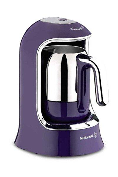 KORKMAZ Kahvekolik Lavanta Otomatik Kahve Makinesi A860-01