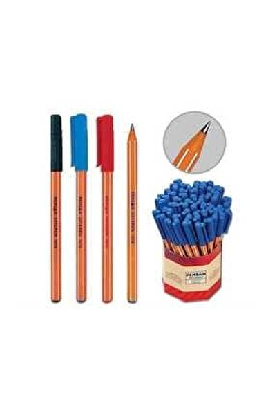 Tükenmez Kalem 60'lı Mavi Kırmızı 1010 1.0