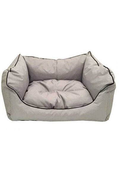 CatMozz Plus Kare Silinebilir Kedi Köpek Yatağı 60x50x17 cm Karışık Renkler Yıkama Garantili