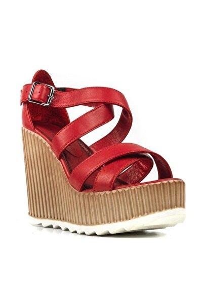 Riccardo Colli Kadın Kırmızı Sandalet 013o16Y00006