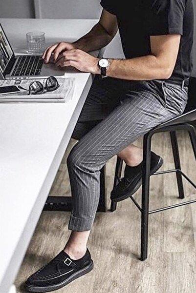 PHILIPLOREN Antrasit Bilek Boy Spor Pantolon (ZM034R08)