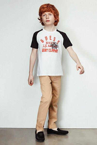 Guess Erkek Çocuk Hardal Pantolon 19SSGL91B06