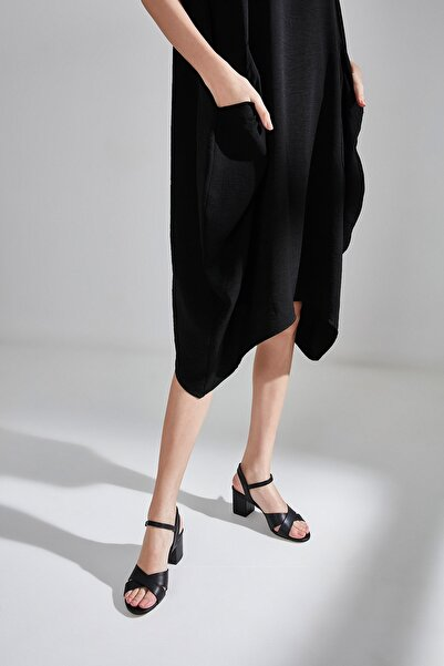 Sıyah Kadın  Sandalet 01SAY177950A100