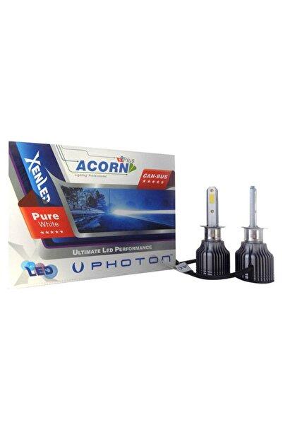 Photon Acorn 5+plus Mini H1 Led Xenon Şimşek Etkili Beyaz Zenon