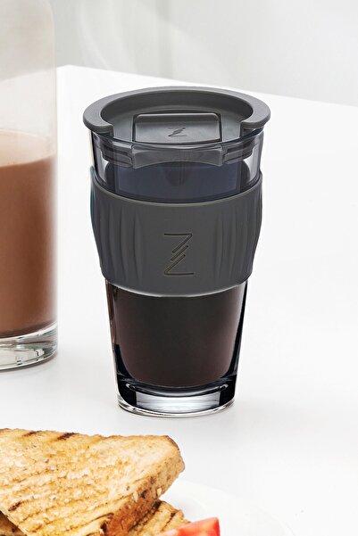 Paşabahçe Zest Glass Kahve Bardağı 475cc Gri