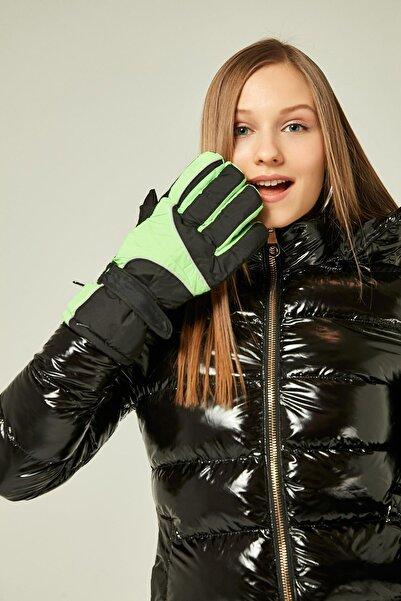 Y-London Kadın 12944 Yeşil Kar Eldiveni ELD-794