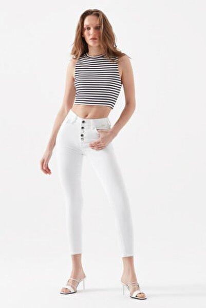 Kadın Tess Gold Beyaz Jean 100328-32254