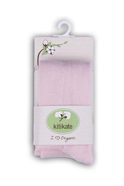 KitiKate 95941 Organik Külotlu Çorap Pembe-18-24 Ay
