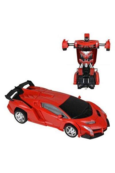 Ferrari Hurtling Şarjlı Uzaktan Kumandalı Robota Dönüşen Oyuncak Araba....