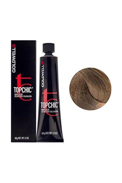 GOLDWELL Topchich Kalıcı Saç Boyası 60 ml - 7N Orta Kumral 4021609000112 (Oksidansız)