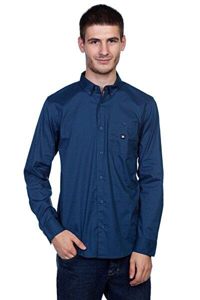 DC Erkek Lacivert Anvil Ls Long Sleeve Shirt Gömlek Dkdnm