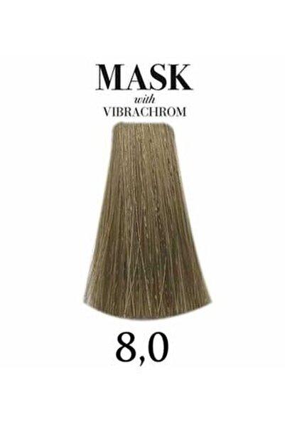 Mask Vibrachrom 8,0 Açık Kumral Saç Boyası 100ml
