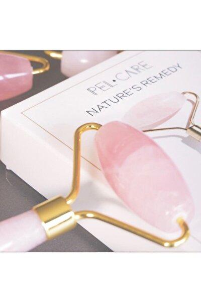 Pelcare Rose Quartz Facial Roller