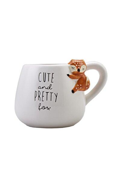 Karaca Animal Fox Mug