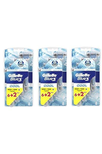 Gillette Blue3 Cool Serinletici 24 Adet Tıraş Bıçağı