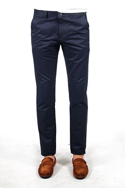 Jakamen Lacivert Extra Slim Fit Yan Cep Pantolon - JK29ES12M013_231