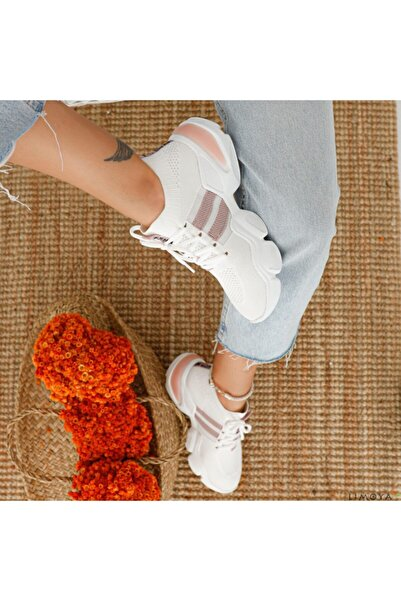 meyra moda Divamod Triko Beyaz